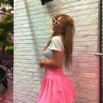"""School Girl"" φούστα - ροζ"